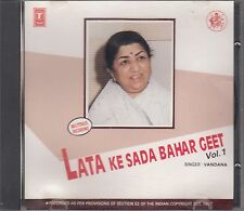 VANDANA - LATA KE SADA BAHAR GEET VOL. 1 - CD T Series Super Cassettes Bollywood