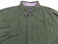 Marmot Men's Hobson Long Sleeve Flannel Shirt Size 2XL Winter Pine Heather