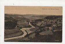 Swaledale From Willance Leap Vintage Postcard 059b