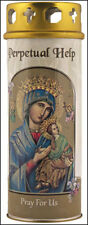 LADY OF PERPETUAL HELP DEVOTIONAL HOLY CANDLE 100's OF STATUES + PICTURES LISTED