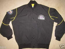 Colorado Rockies Starter Black MLB Jacket L Large mens