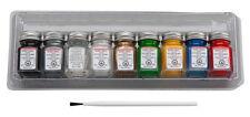 Testors Promotional Paint Set 1/4 oz enamels for models new 9146