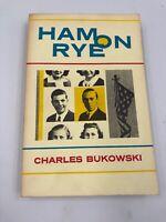 HAM ON RYE CHARLES BUKOWSKI 1982 BLACK SPARROW PAPERBACK FIRST EDITION 1st Print