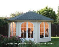 Gartenhäuser aus Holz mit 36-45 mm Wandstärke