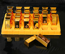 GOLD BULLION BAR NOVELTY MAGNET Decorative Fridge Kitchen Home Office Board Gift