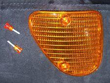 Original Piaggio Blinkerglas rechts + Schrauben Ape 50 ZAPC80 Glas für Blinker