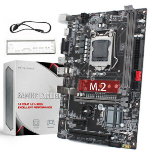 USB3.0 VGA SATA3.0 Go RAM 1333 Sofobod B75 Motherboard Cartes m/ères Chipset Socket LGA1155 Support Core i3//i5//i7 CPU DDR3 HDMI Micro ATX
