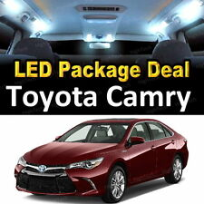 10x White LED Lights Interior Package Deal For 2007- 2009 2010 2011 Toyota Camry