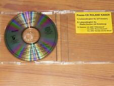 ROLAND KAISER - LEBENSLÄNGLICH DU / 2 TRACK LIMITED-MAXI-CD 1992