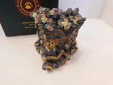 Boyds Clementine .Garden Romance Votive Candle Holder 2000 Edition