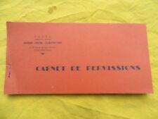 Chasse / Pêche - carnet de permissions - Carcassonne