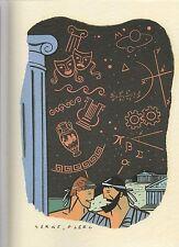 Serge CLERC. Les Grecs. Livret publicitaire. Limited Edition.