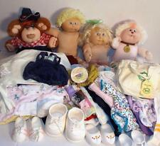 Huge LOT 100+ 80s & 90s CABBAGE PATCH KIDS Dolls Furskin Clothes Shoes Handmade