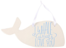 I Whale Always Ceramic Hanging Decoration Gift Home Decor Accessory