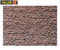 """Faller H0 170618 Mauerplatte """"Naturstein"""" (1m² - 57,28€) - NEU"""