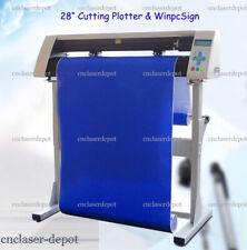 "Redsail 28"" Cutting Plotter Contour Cutting Function Vinyl Cutter & WinPcsign"