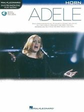 PlayAlong ADELE Play POP Chart Hits Hello Skyfall HORN  MUSIC BOOK Online Audio