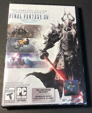Final Fantasy XIV Online Complete Edition [ 3 Games in 1 Pack ] (PC) NEW