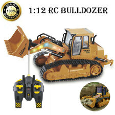 1:12 RC Bulldozer Remote Control Simulation Truck Construction Model Vehicle Car