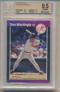 1989 Donruss Don Mattingly (#74) BGS9.5 BGS