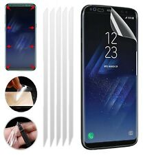 5x Samsung Galaxy S8 [TPU] Clear Full Coverage LCD Screen Protector Guard Covers