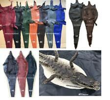 New Genuine Crocodile Alligator Skin Leather Hide Pelt Taxidermy High Quality