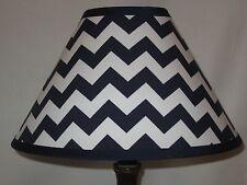 Navy Blue Chevron Children's Fabric Lamp Shade M2M Pottery Barn Kids Bedding