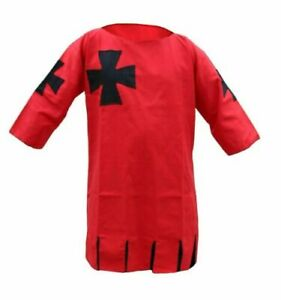 Medieval Tunic Red Super Clothing Amazing Star Brand Jaket
