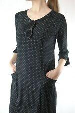 Polka Dot Viscose Short Sleeve Casual Dresses for Women