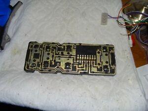 SAAB 900 CLASSIC convertible or sedan lighting circuit board right hand side