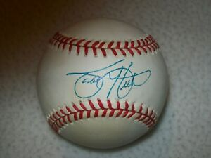 TODD HELTON SIGNED AUTOGRAPHED NL COLEMAN BASEBALL COLORADO ROCKIES JSA