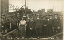 More details for peterborough. the great fire at westwood works 2.3.1922 # 7.