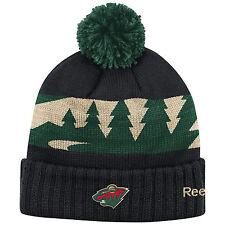 Minnesota Wild 2016 NHL Stadium Series Reebok Cuffed Pom Knit Hat Toque bb7e467736