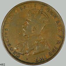 1928 Australia Penny KM# 23
