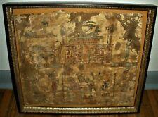 Egyptian Anubis Eye Of Ra & Horus Ptolomaic Mummy Wrap Original Authentic vafo