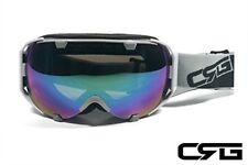 CRG Ski Snow Snowboard ANTI-FOG DOUBLE LENS TRIPLE-LAYER FOAM Goggles CRG105-9