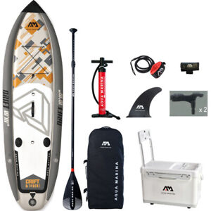 Stand Up Paddle Board Inflatable SUP Surfboard Surfing Fishing Deck Complete Kit