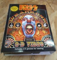 CD lmt edt vhs box set Kiss We Are One Psycho Circus uk 1998 3d glasses