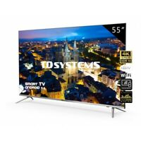 "TV 55"" Led Ultra HD 4K Smart TD Systems K55DLJ10US"