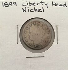 Liberty Head Nickel  1899 AG About Good