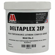 5305TB - Millers Oils Deltaplex 2EP Hi-Temp Bearing Grease - 500g