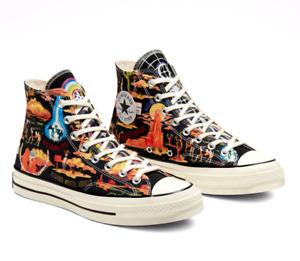 Converse Twisted Resort Chuck Taylor 70 Mens UK 9 & 10 High Top Sneaker Trainers
