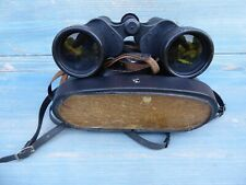Cased Carl Zeiss 7 x 50 Jenoptem binoculars good  working order