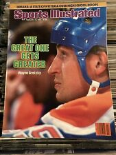 1985 Sports Illustrated Wayne Gretzky Oilers Newsstand Issue