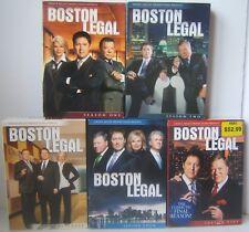 Boston Legal Complete Series Season 1-5 DVD Box Sets
