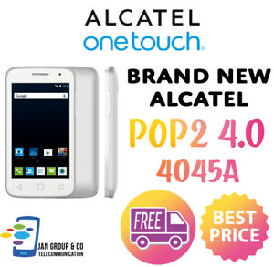 Alcatel One Touch POP 2 4.0 4045A - UNLOCKED - Brand New