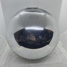 RETRO Silver/Chrome Globe Light Shade Ceiling Round Eye Ball Mid-Century Style