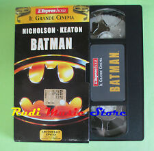 film VHS cartonata BATMAN 2001 Jack Nicholson Michael Keaton ESPRESSO(F37)no*dvd