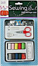 Premium Sewing Kit for Travel/Home -High Quality Needles, Scissors & Accessories