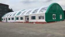 Eventzelt 40x20m aufblasbar Partyzelt Messezelt Pavillon Messe Zelt + 3 Pumpen